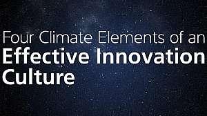 Effective Innovation Culture Still