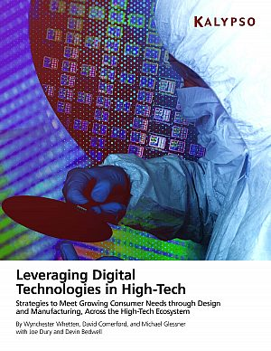 Leveraging Digital Technologies in High Tech eBook Cover